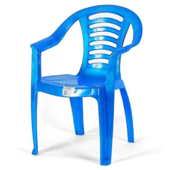 Детский стульчик со спинкой Marian Plast