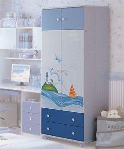 Шкаф для одежды Дельфин Milli Willi