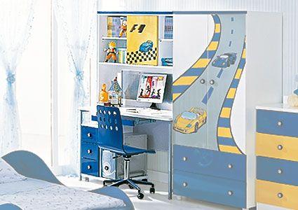 Письменный детский стол F1 blue Milli Willi