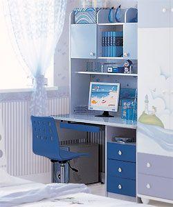 Детский письменный стол Дельфин Milli Willi