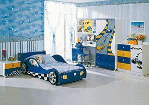 Детская комната F1 blue